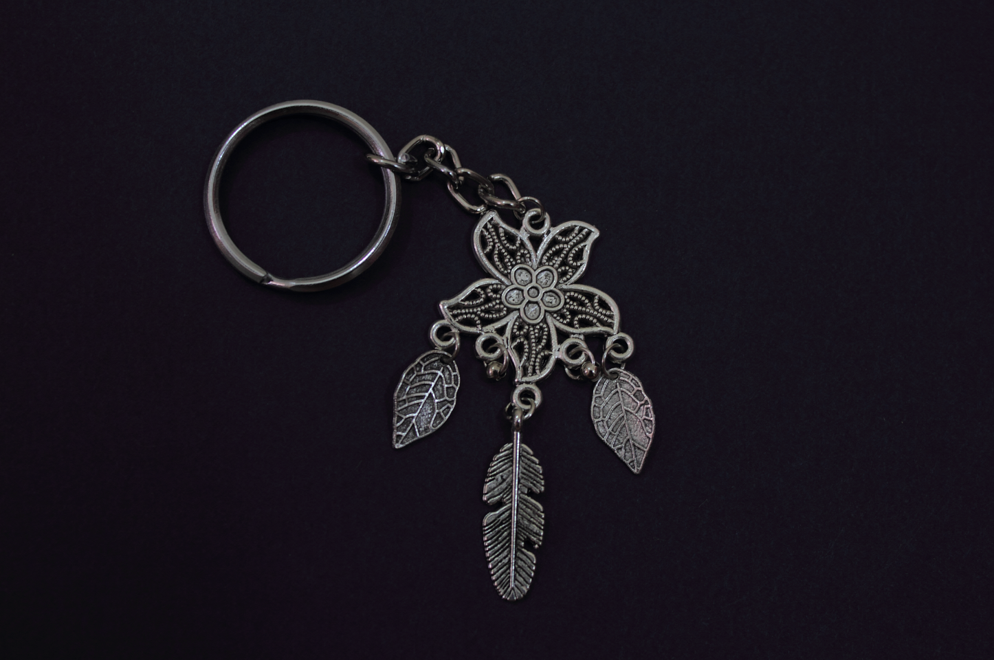 handmade jewelry dreamcatcher keychain