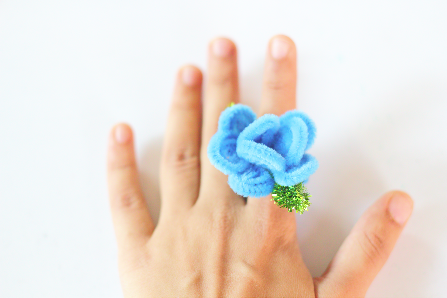 Pipe Cleaner Rose Ring Tutorial (with Video!)