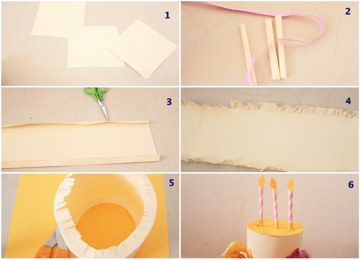 paper cake layer tutorial1