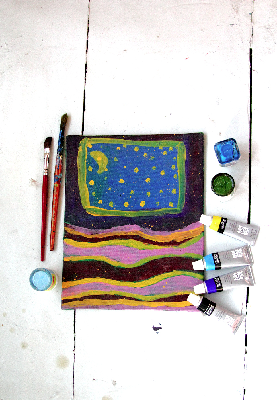 Tips While Making Abstract Art