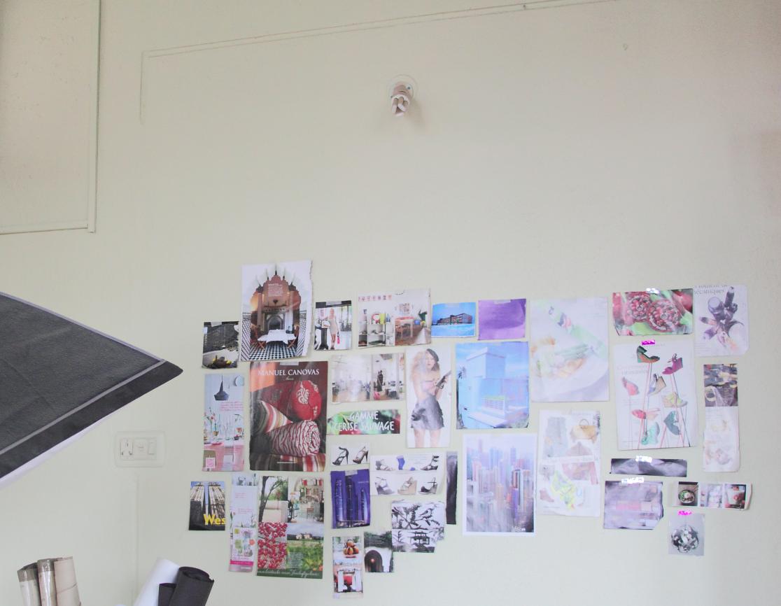 diy vision wall