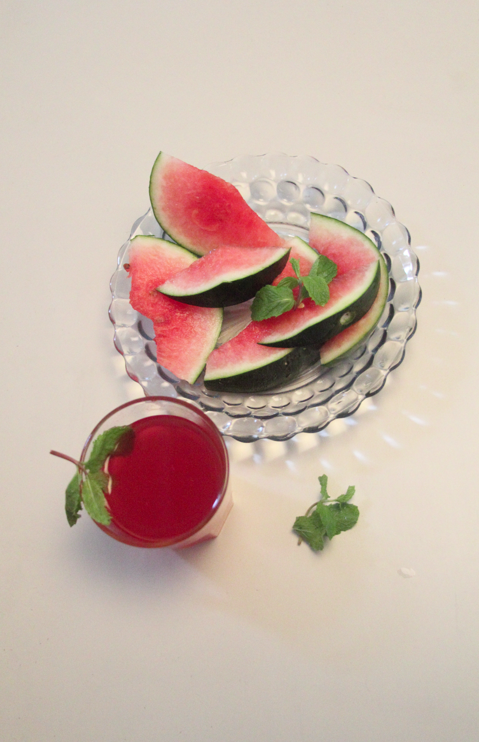 How to make minty watermelon juice
