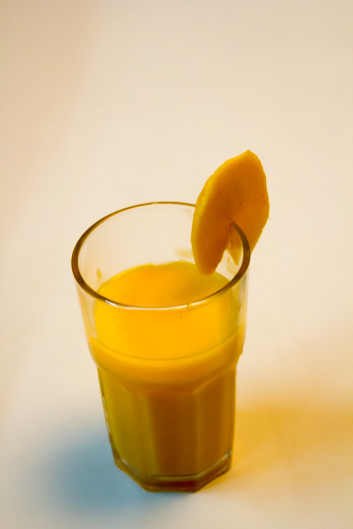 Recipe: Fresh Mango Milkshake at www.surelysimple.com