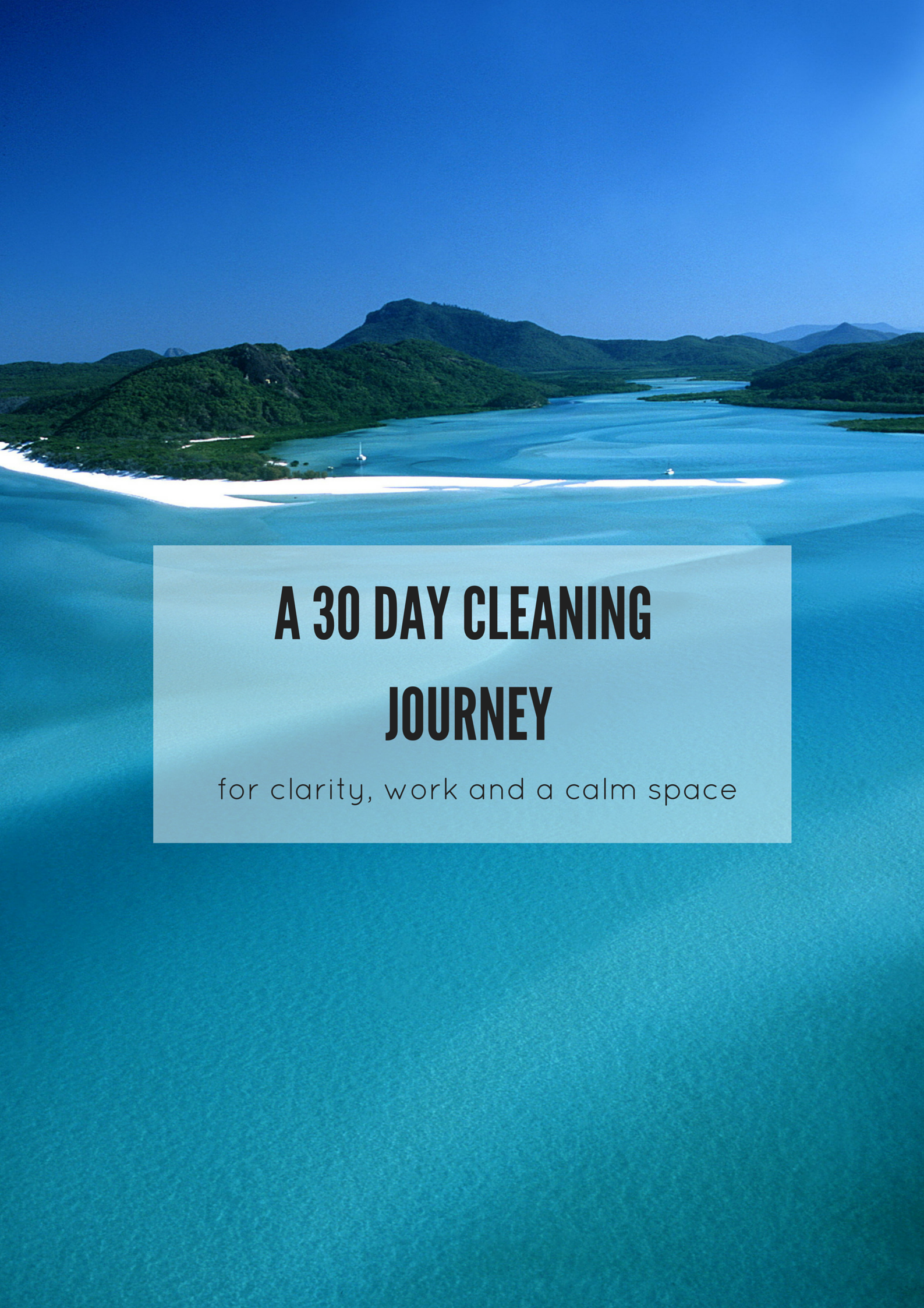 A30 day cleaning journey (starting now!) via www.surelysimple.com