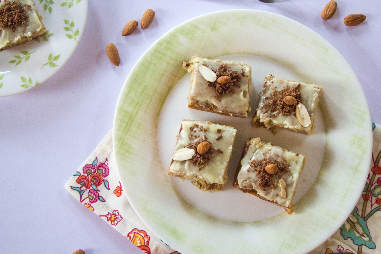Chocolate Banana Walnut Mini Squares via www.surelysimple.com #surelysimple