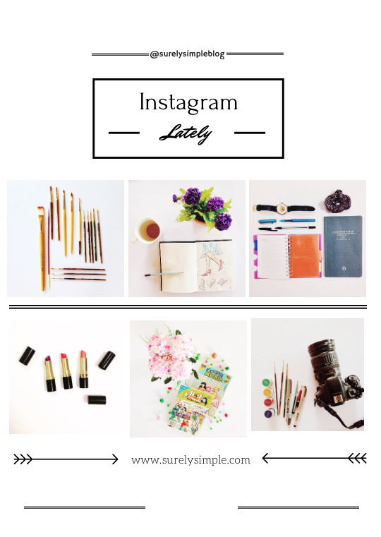 Instagram lately..styling everyday objects via www.surelysimple.com Instagram account @surelysimpleblog