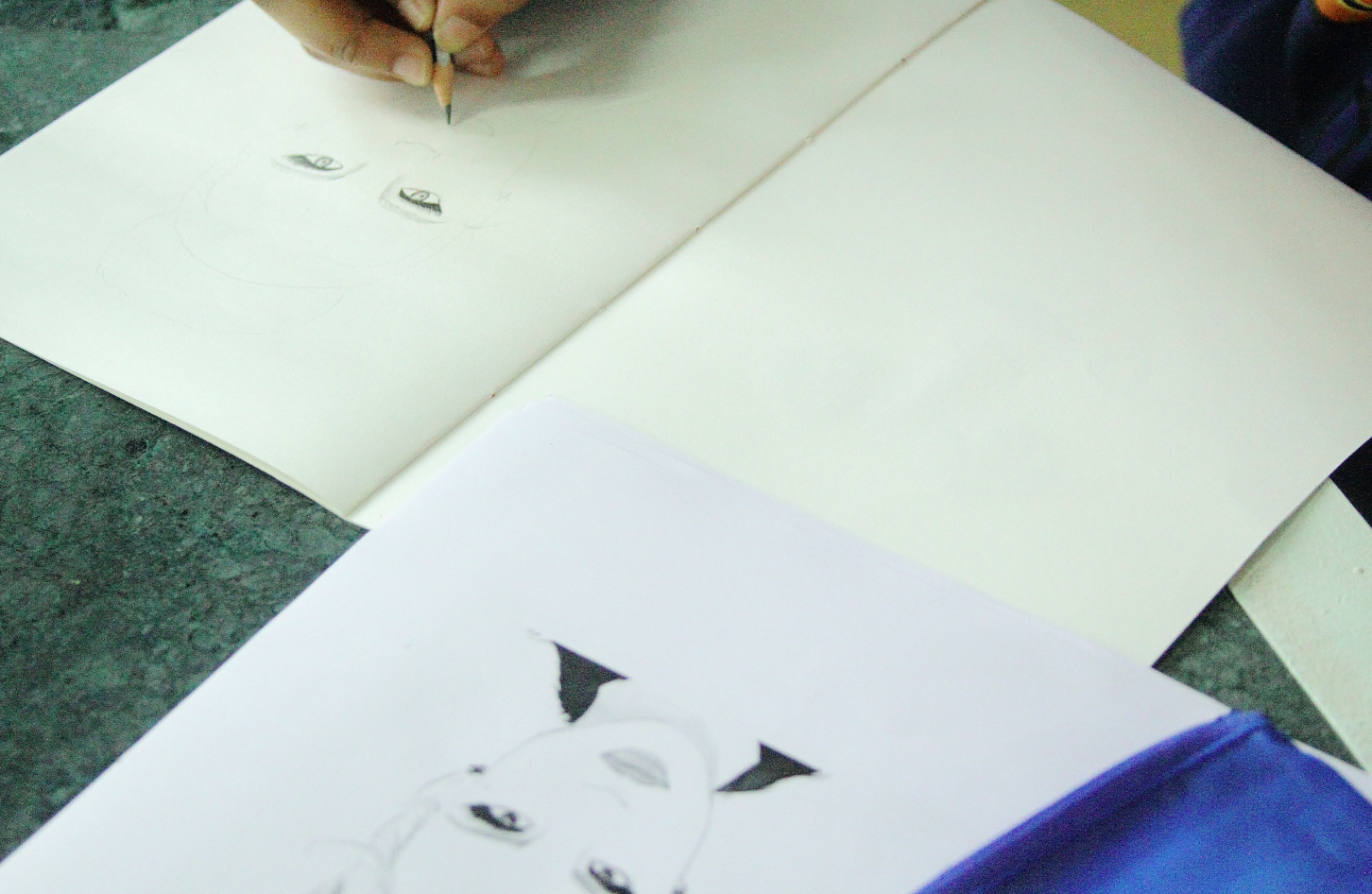 a drawing workshop this weekend