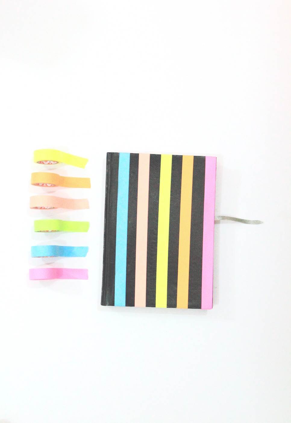 Restyle it! Neon Planner Diaries- turn dull diaries into these neon colour block beauties! via www.surelysimple.com