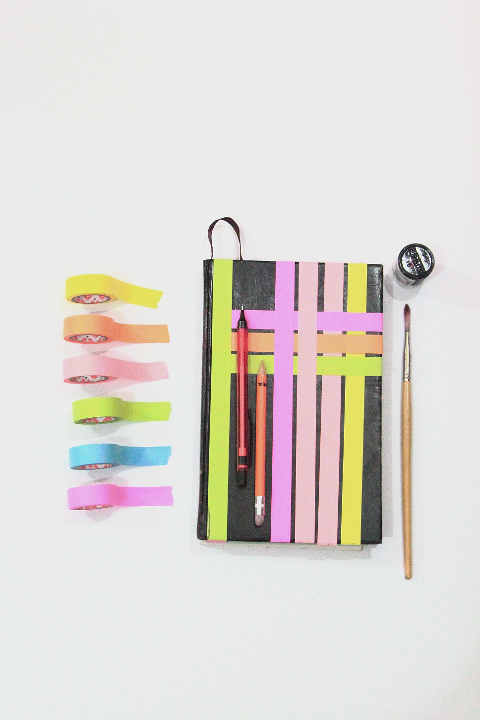 Restyle it! Neon Planner Diaries