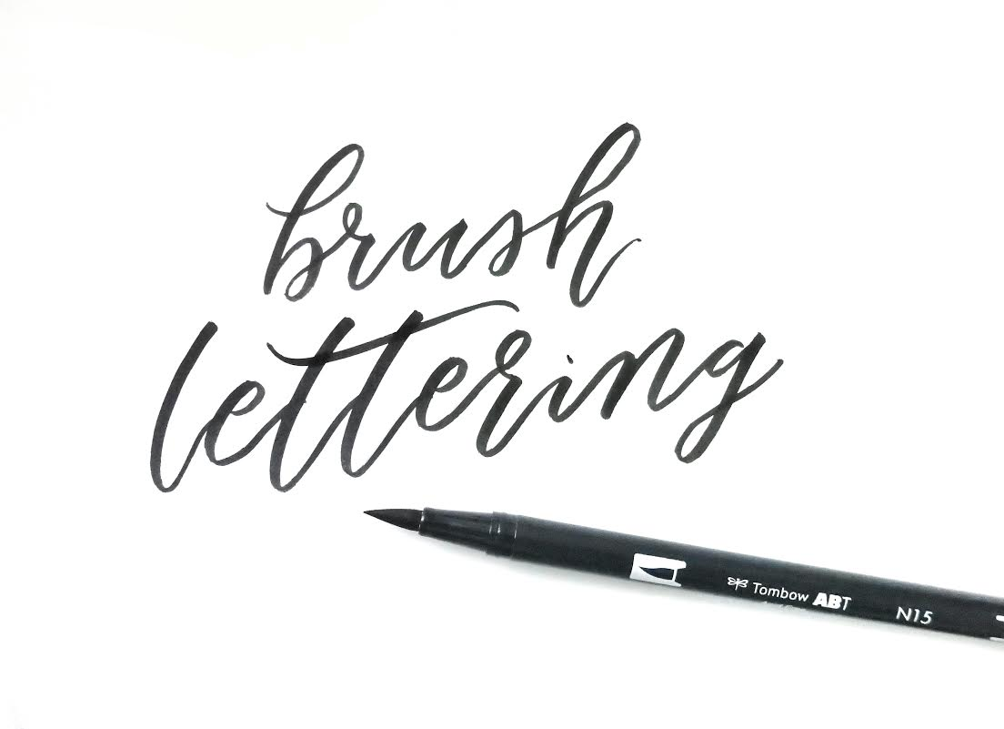 Getting started with brush lettering part surely simple