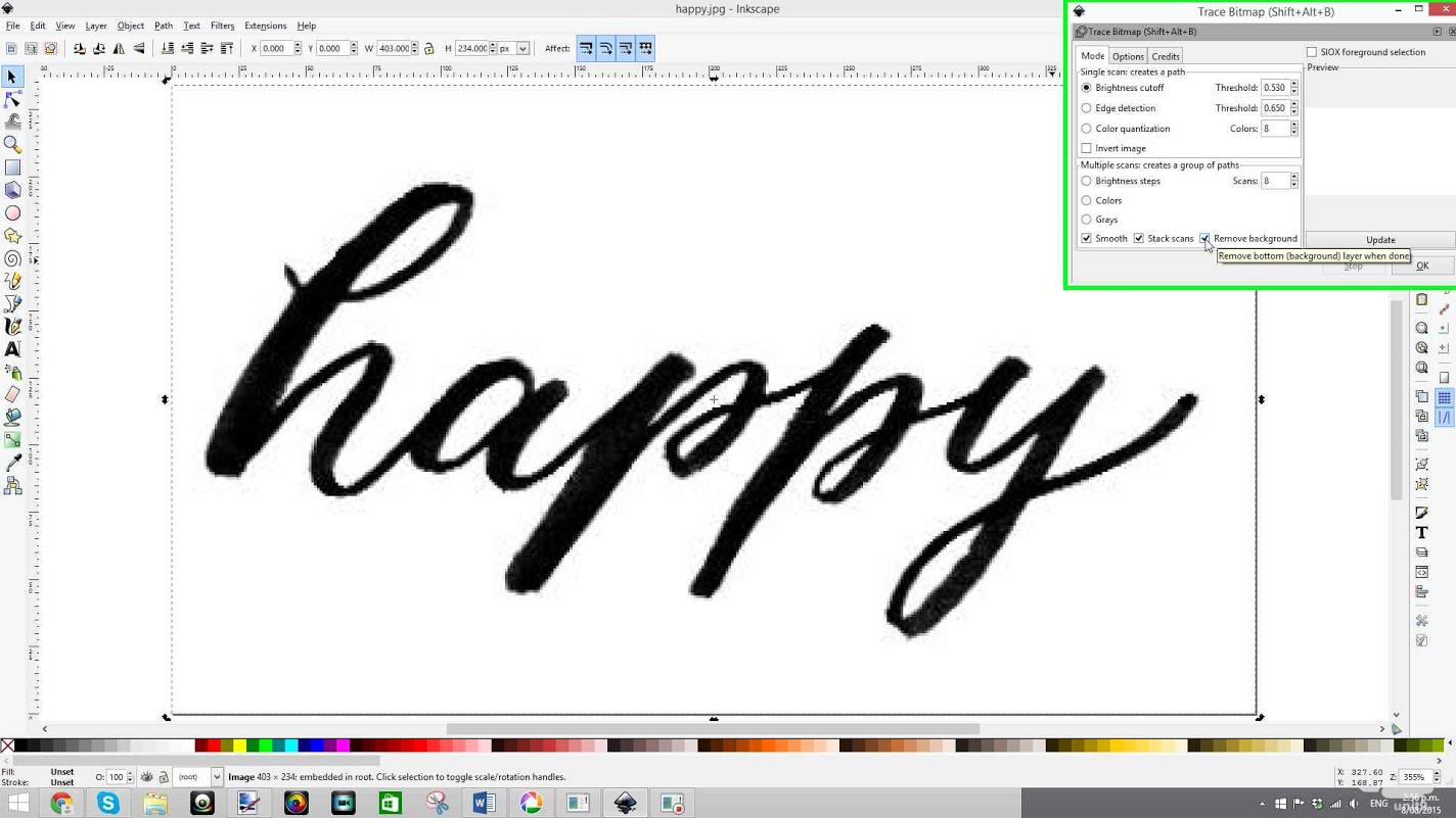 11 Inkscape