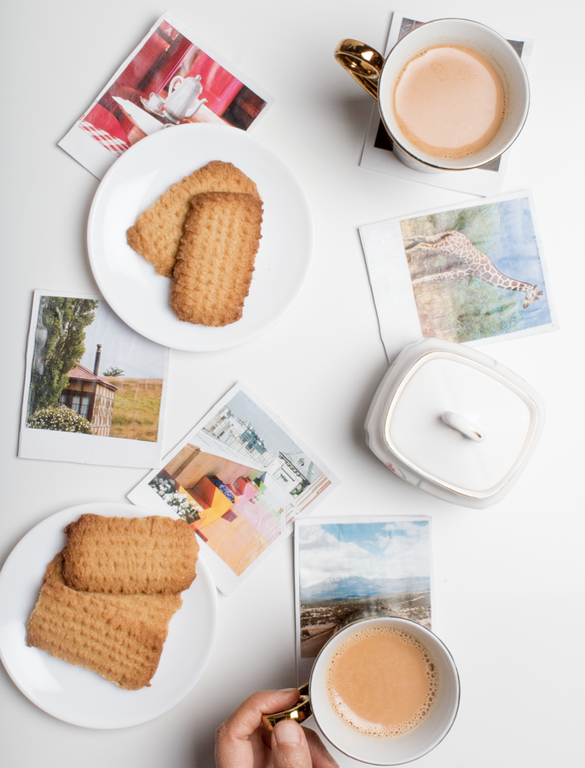 DIY Polaroid Coasters and Wall Decor! get the tutorial at surelysimple.com
