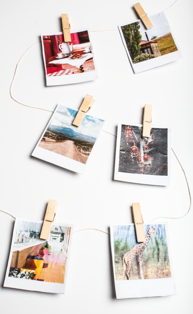 DIY Polaroid Coasters and Wall Decor!
