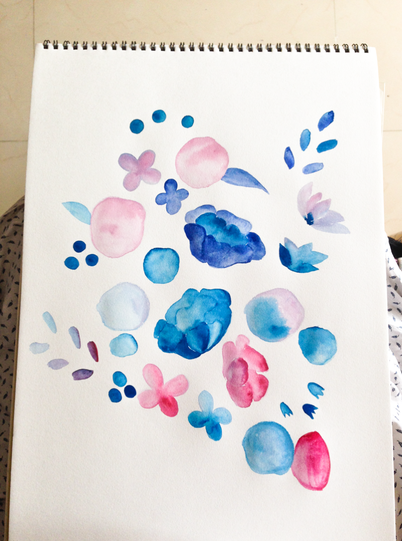 pin watercolorpaintingflowersstepbypictures on pinterest