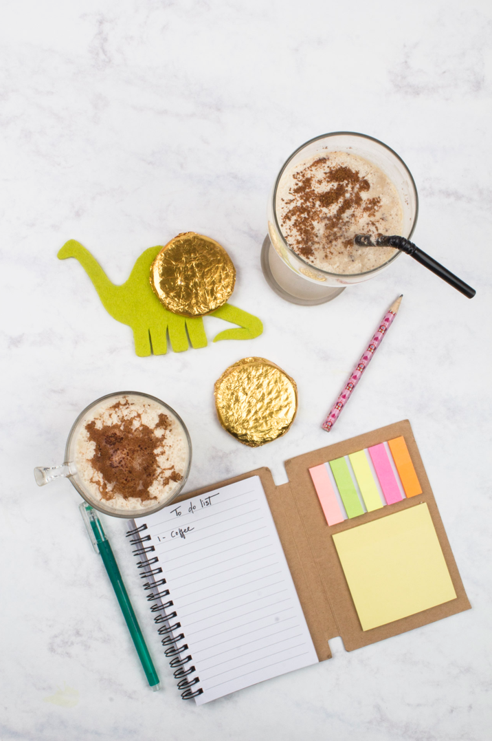A 2 minute cold coffee recipe- click here for the details! via surelysimple.com