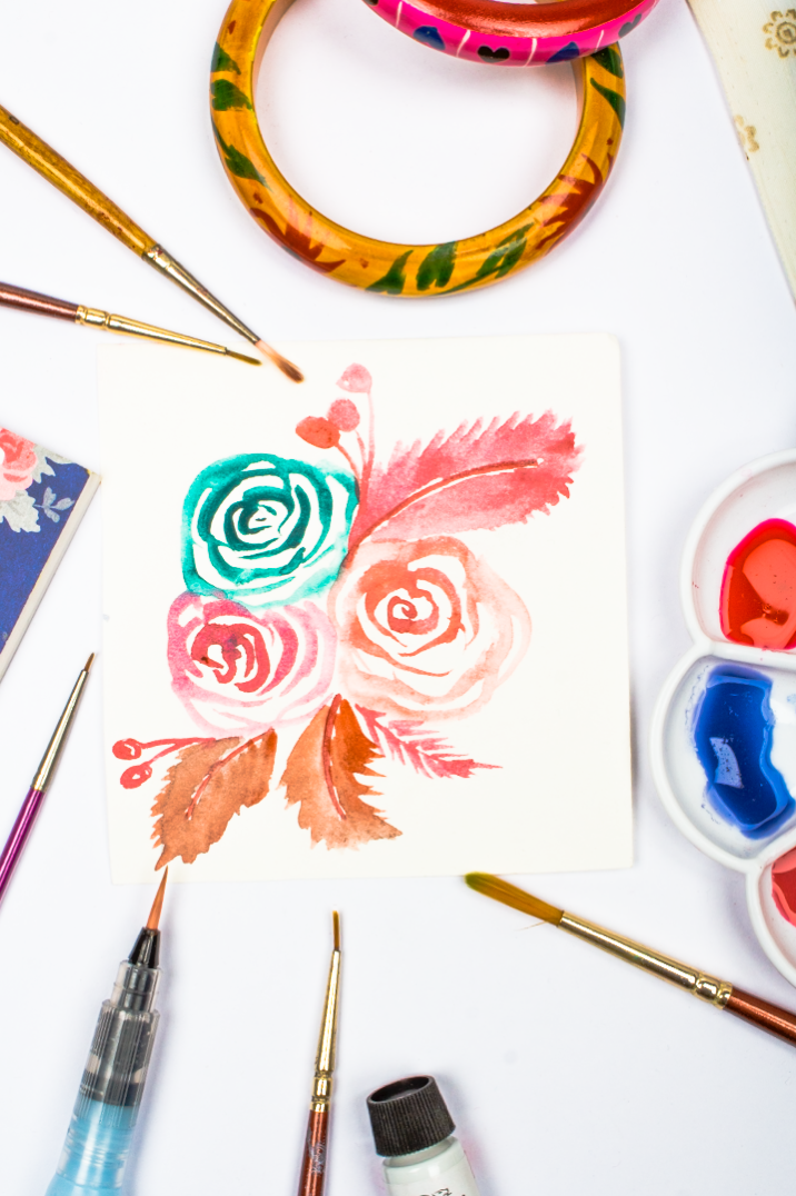 An Easy Way To Paint Rose Blooms (with Video)
