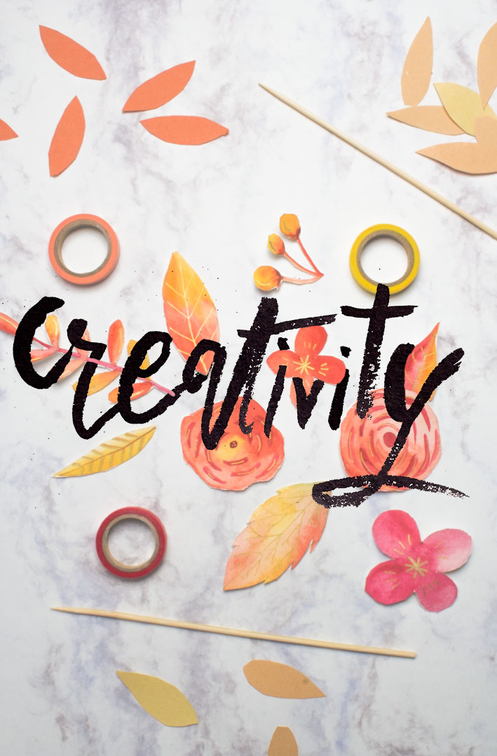 Practicing Creativity on a Regular Basis- tips and some pictures to inspire you! via surelysimple.com