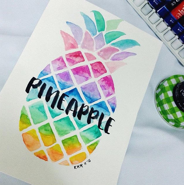 Meet these #surelysimpleartcircle artists! Lettering + Colourful interview