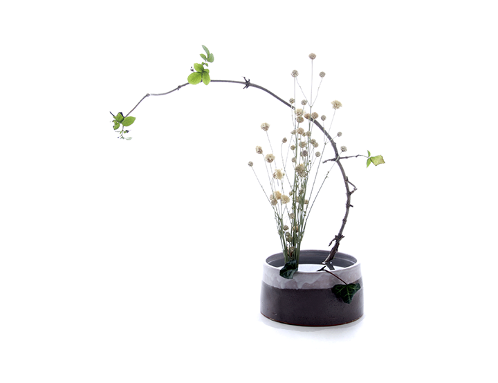 IKEBANA BASICS- clikc through for a basic run through on this Japanese form of flower arranging via www.surelysimple.com