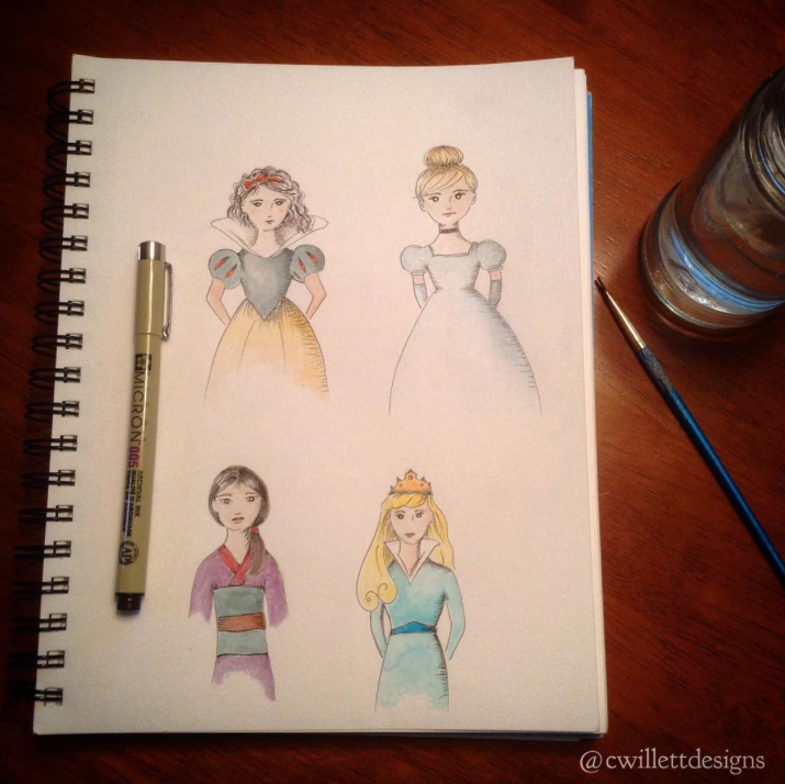 SurelySimple Circle of Artists; A Month of Disney Features via the instagram challenge @surelysimplechallenge @surelysimpleblog- www.surelysimple.com