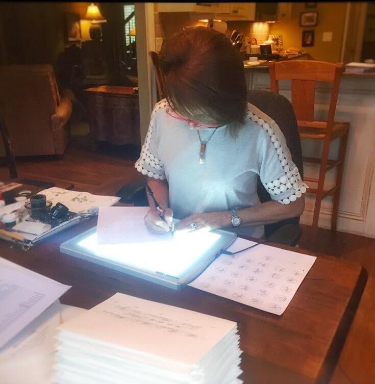 Meet Calligrapher Suzanne Cunningham