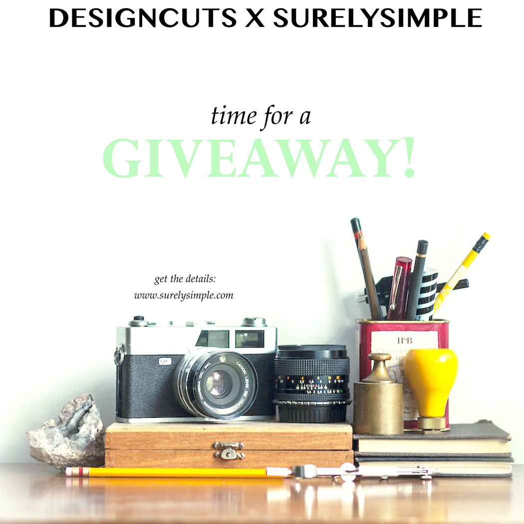 Design Cuts x Surely Simple Giveaway! Win an Artistic Design Bundle!