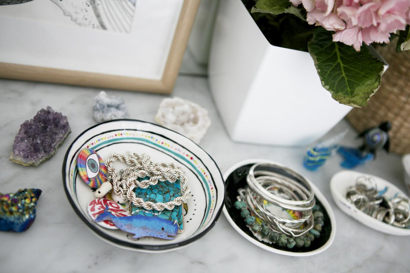 Jewellery Dish A Creative Home..with Artist Michelle Fleur in Perth, Australia // Surelysimple.com