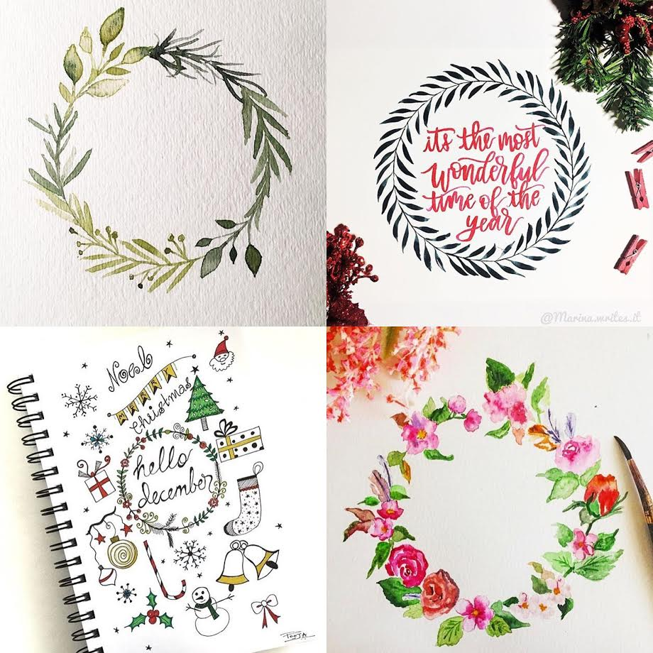 #SurelySimple Wreath Theme Winners | Dec 8-15 via surelysimple.com
