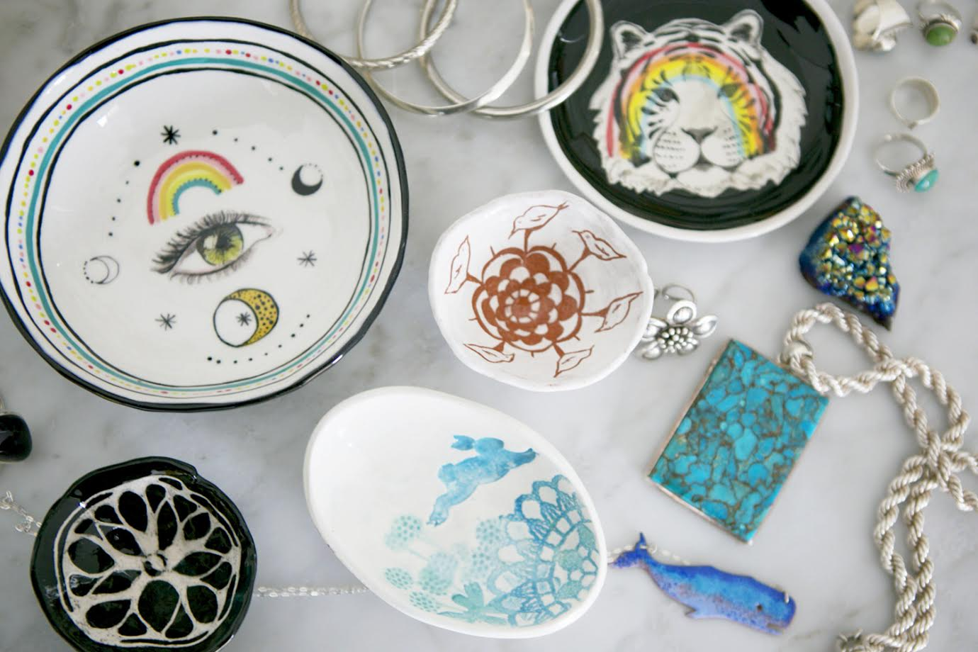 Trinkets A Creative Home..with Artist Michelle Fleur in Perth, Australia // Surelysimple.com