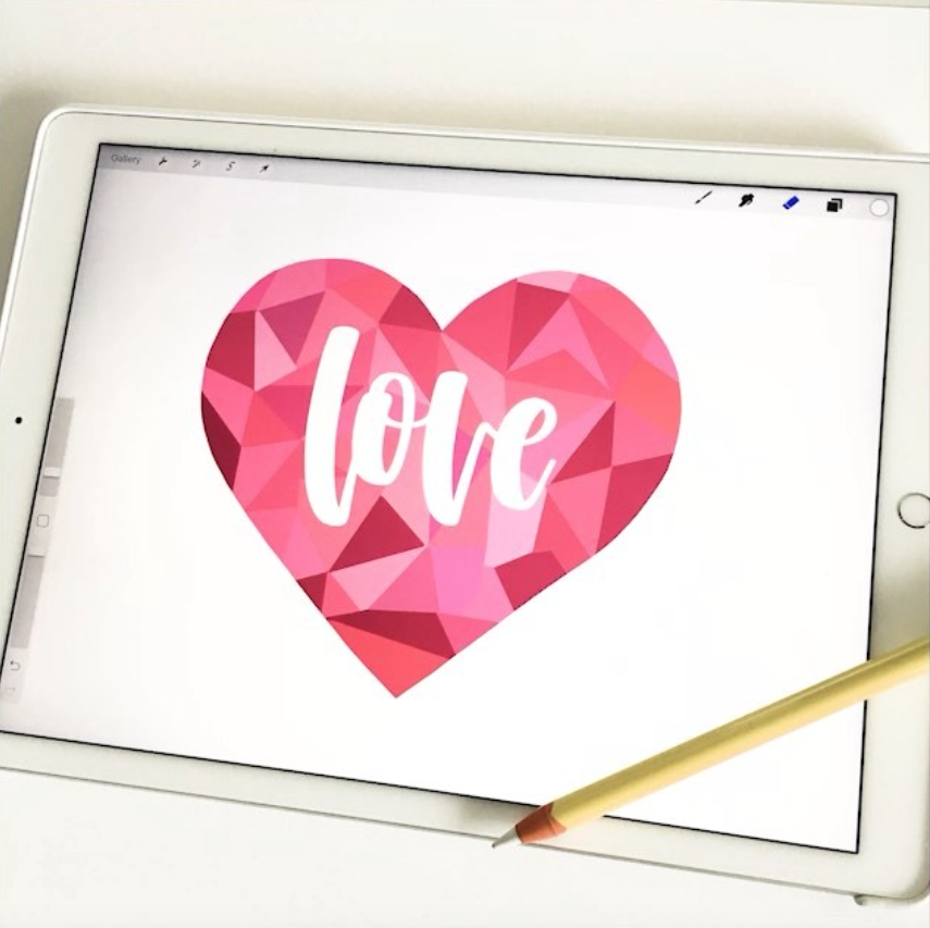 Meet Karin of iPad Lettering! A creative interview about lettering artists via surelysimple.com