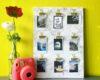 DIY Polaroid Clips Marble Display - via surelysimple.com