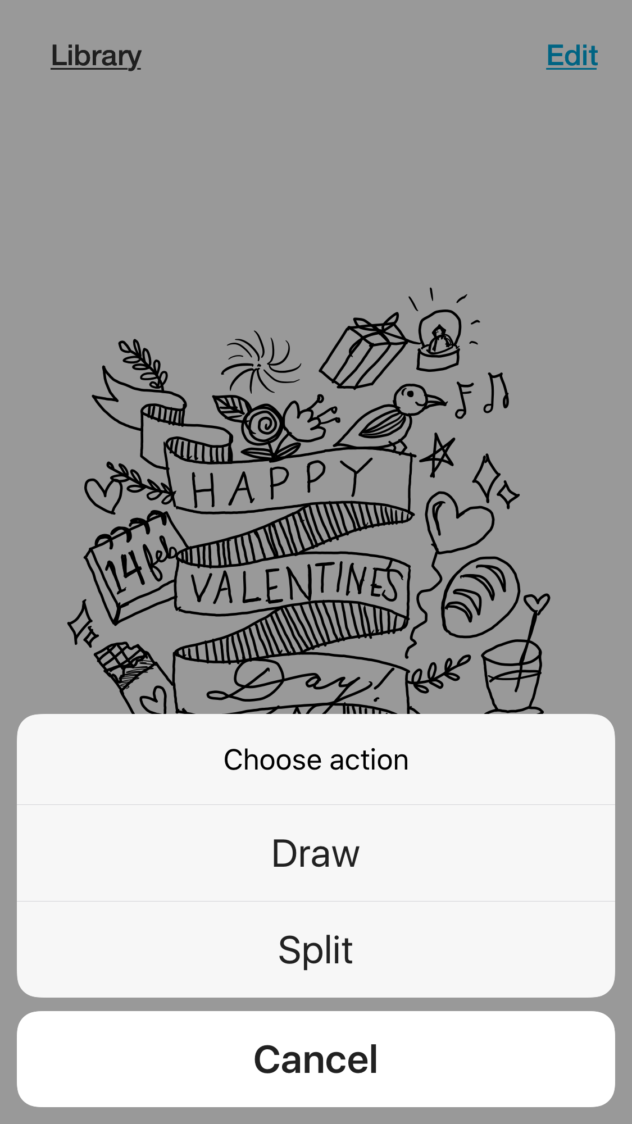draw and split function/ BAMBOO SLATE REVIEW AND VALENTINE'S DAY FREE COLORING SHEET via SurelySimple.com