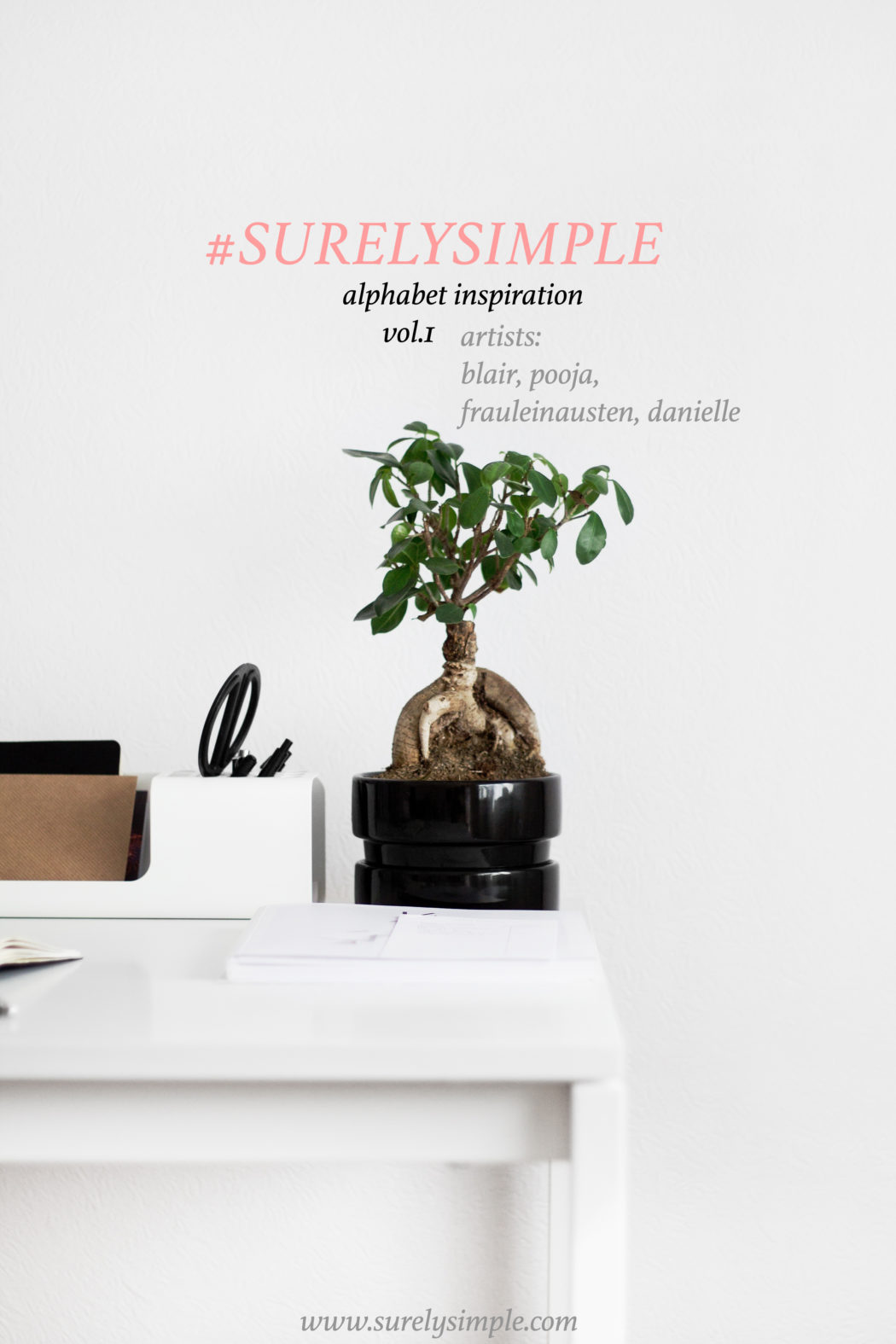 #SurelySimple Alphabet Challenge Artists vol.1 via SurelySimple.com - An interview series
