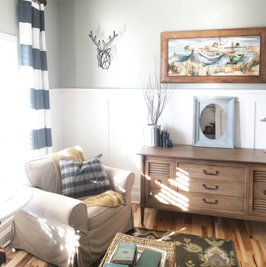 House / A Creative Home..with Artist Katie in Carrollton, Virginia - a home interview series via SURELYSIMPLE.COM