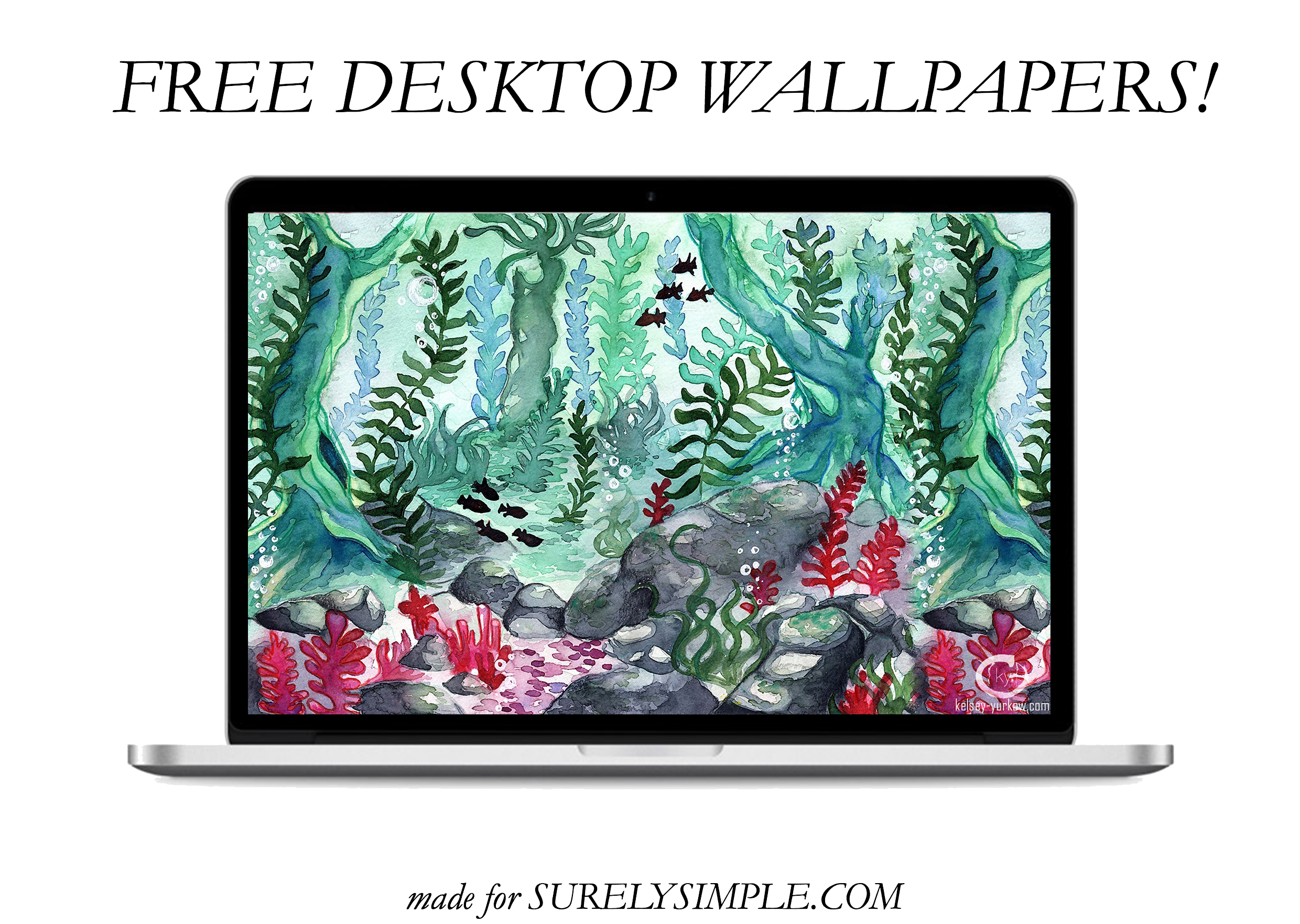 5 Free Artistic Phone and Desktop Wallpapers! | Surelysimple.com