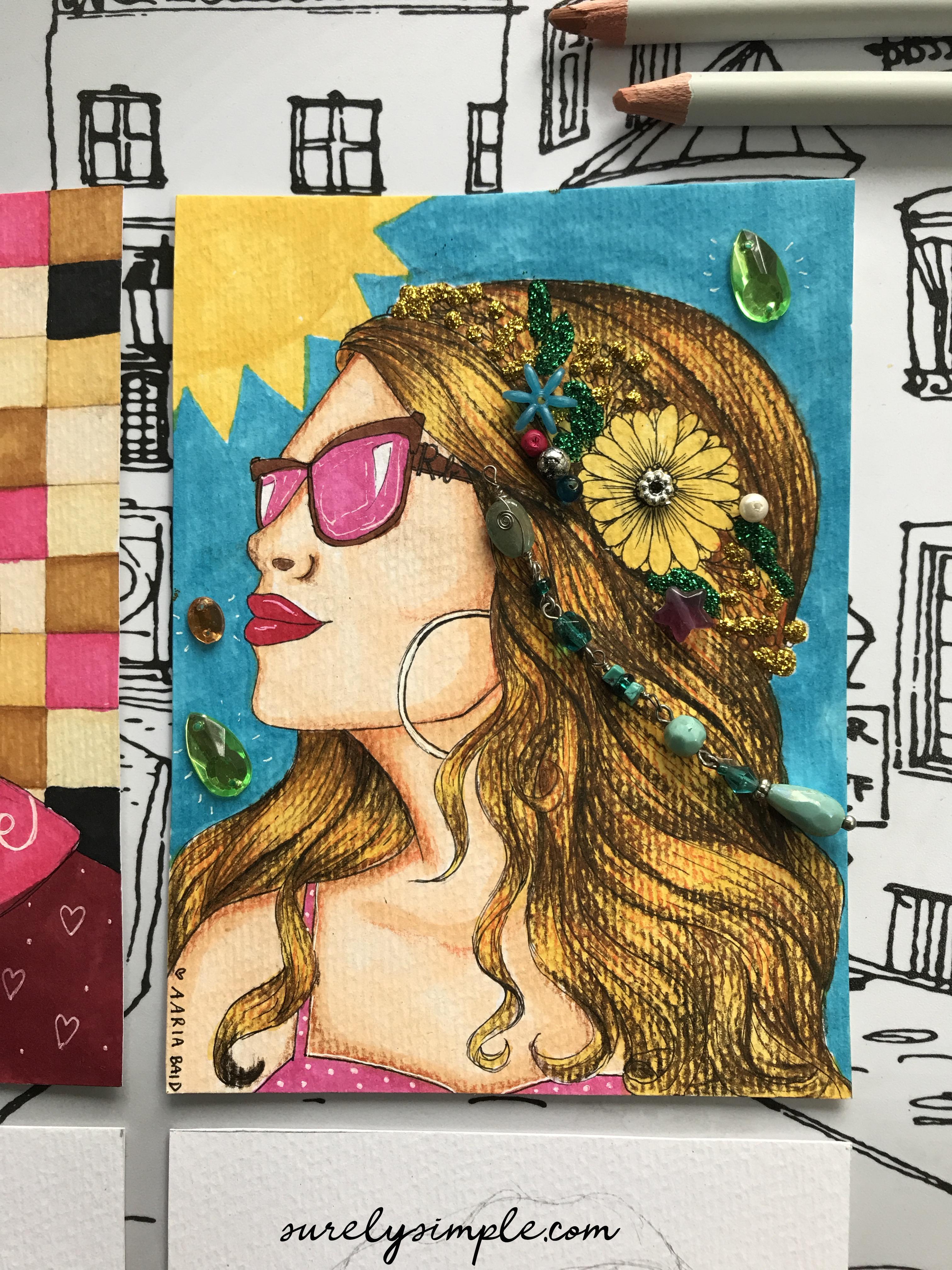Free Download : Girls Coloring Book vol. 1! surelysimple.com