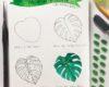 How to Draw // Monstera Delicious Plant - via SurelySimple.com