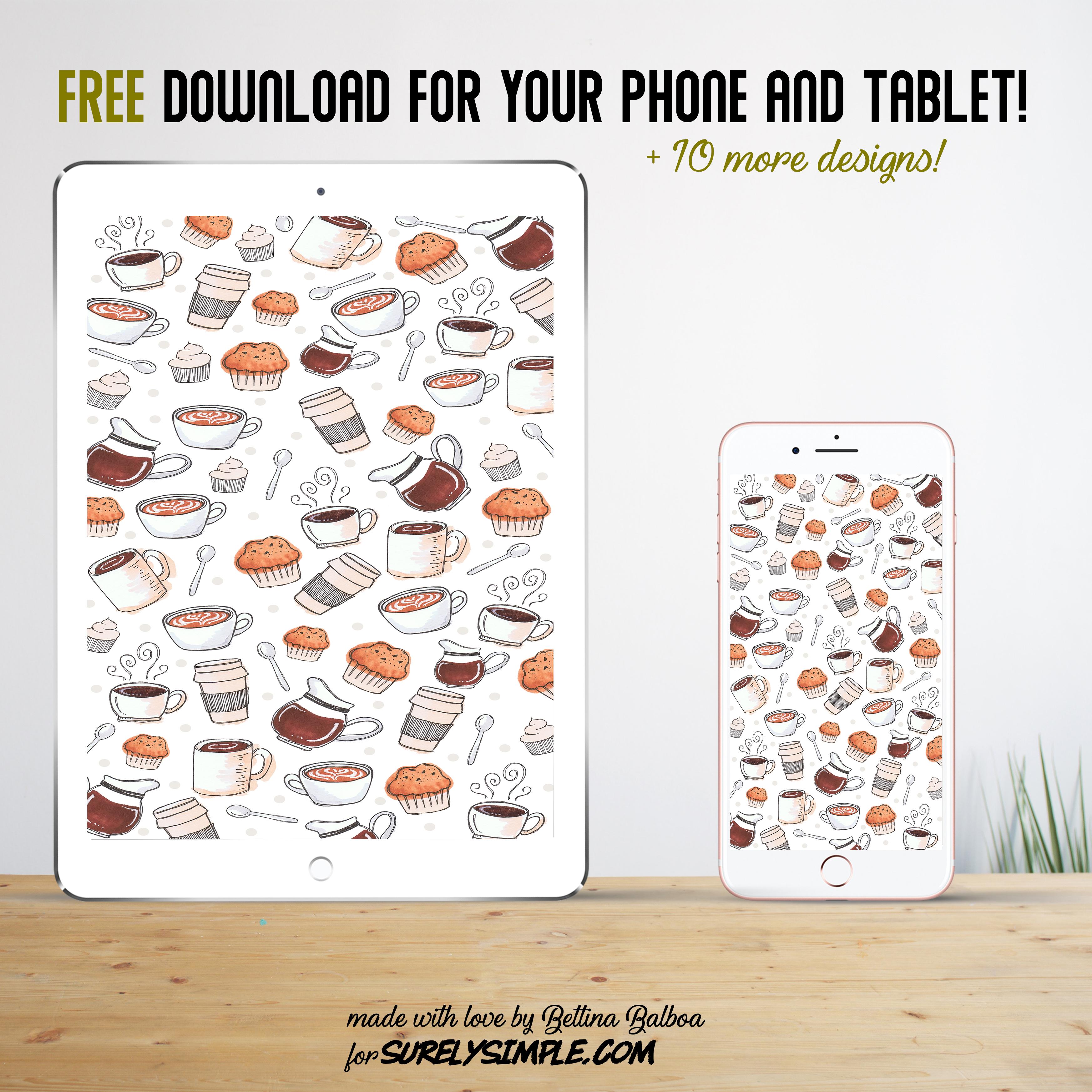 11 Free Phone and Desktop Wallpapers! | 3 | Pattern Chic via Surelysimple.com
