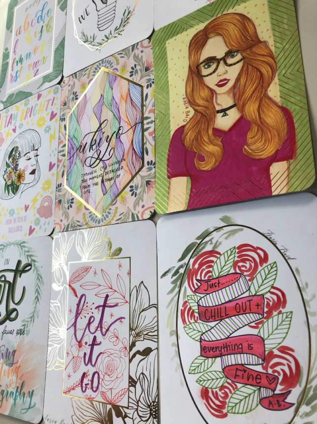 Mixbook Stationery Review: Good Quality (Doodles + a Free download